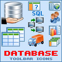 Database Toolbar Icons