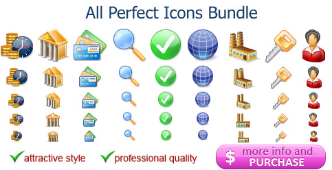 A mega-pack of royalty-free web 2.0 icons for all your development needs
