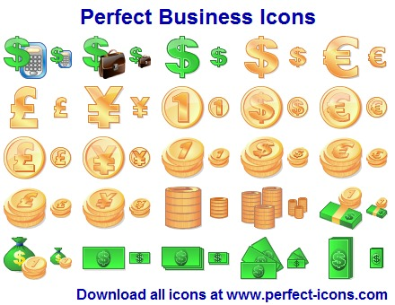 Business Toolbar Icons 2015.1 screenshot