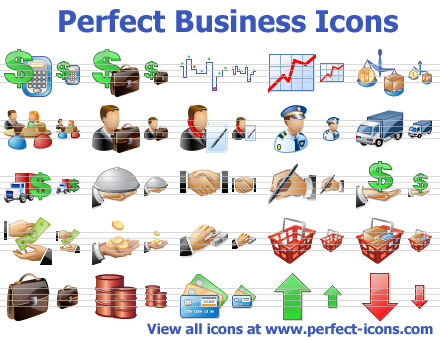 Click to view Perfect Business Icons 2011.3 screenshot