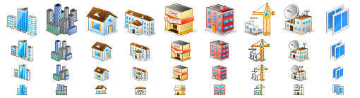Perfect City Icons
