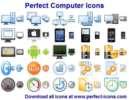 Click to view Perfect Computer Icons 2011.7 screenshot