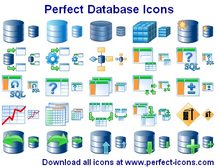 Perfect Database Icons Screen shot