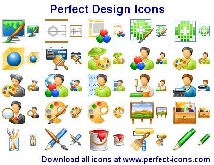 Click to view Perfect Design Icons 2012.2 screenshot
