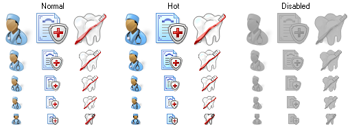 Perfect Doctor Icons
