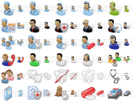 icon, interface, set, Vista, creative, images, iconic, medical, doctor, medical