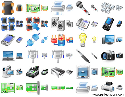 Perfect Hardware Icons