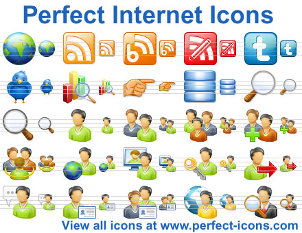 Perfect Internet Icons