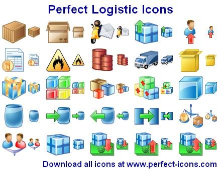 Perfect Logistic Icons screenshot