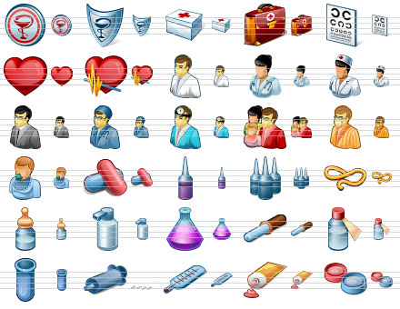 Click to view Perfect Medical Icons 2011.1 screenshot