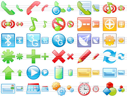Click to view Perfect Mobile Icons 2011.1 screenshot
