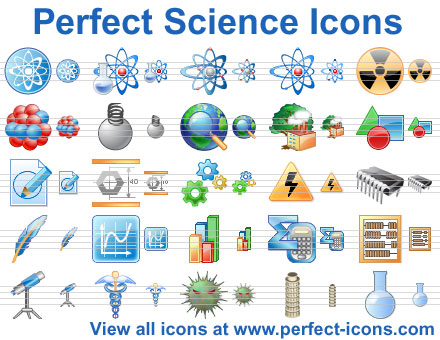 Click to view Perfect Science Icons 2015.1 screenshot