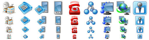 Perfect Telecom Icons