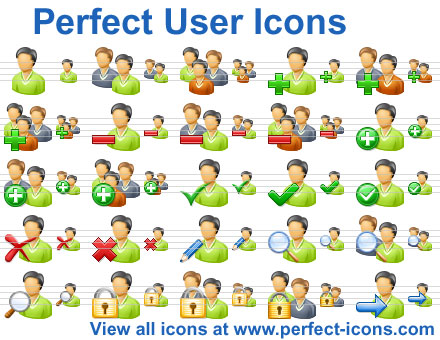 Click to view Perfect User Icons 2011.3 screenshot