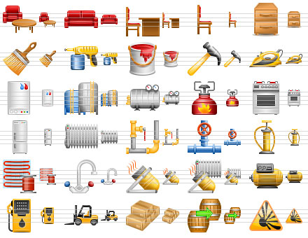 Perfect Warehouse Icons