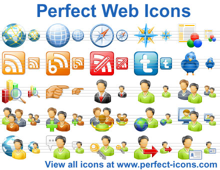 Click to view Perfect Web Icons screenshots